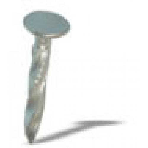Gwoździe stalowe skręcane cynkowane - 30 mm (z poszerzanym łbem płaskim)