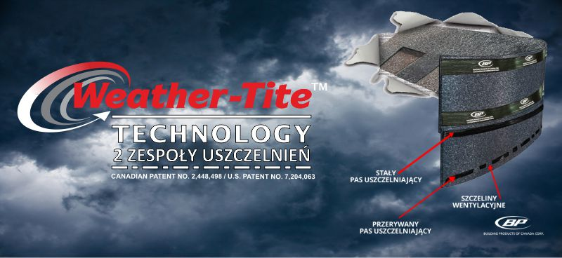 Technologia WEATHER TITE Technology - REWOLUCYJNA OCHRONA