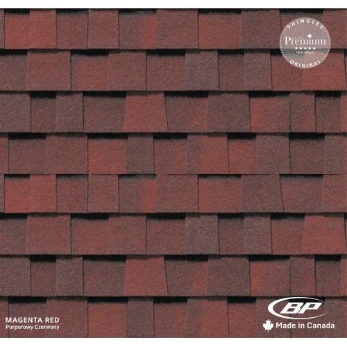 Gont Bitumiczny BP EVEREST 42 HD - Magenta Red [PURPUROWY CZERWONY]